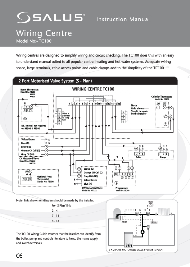 Honeywell Wiring Centre Manual Guide