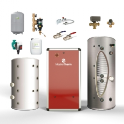 MasterTherm AquaMaster Inverter Kits with Solar Cylinder and Buffer