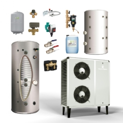 MasterTherm BoxAir Inverter Kits with Solar Cylinder and Buffer