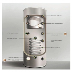 Heat Pump and Buffer Combo Cylinders