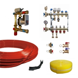 Water Underfloor Heating Components