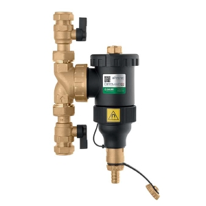 DirtMAG IQ Plus 22mm with Service Isolation Valves