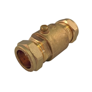 Brass Non Return Valve 22mm