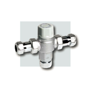 TMV for Hot Water 15mm inc MX Service Valves