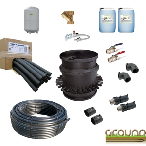 Horizontal Collector Kit 2000m 40mm HDPE +  50m 63mm HDPE