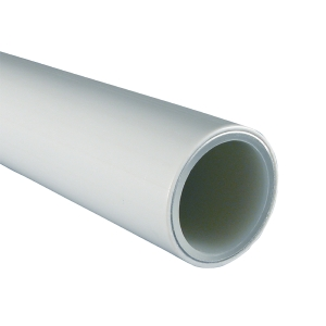 Multilayer pipe 5m length 16 x 2mm White PE-RT/AL/PE-RT - WRAS
