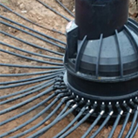 Ground Heat Collector Systems