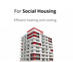 Ground source heat pumps for social housing